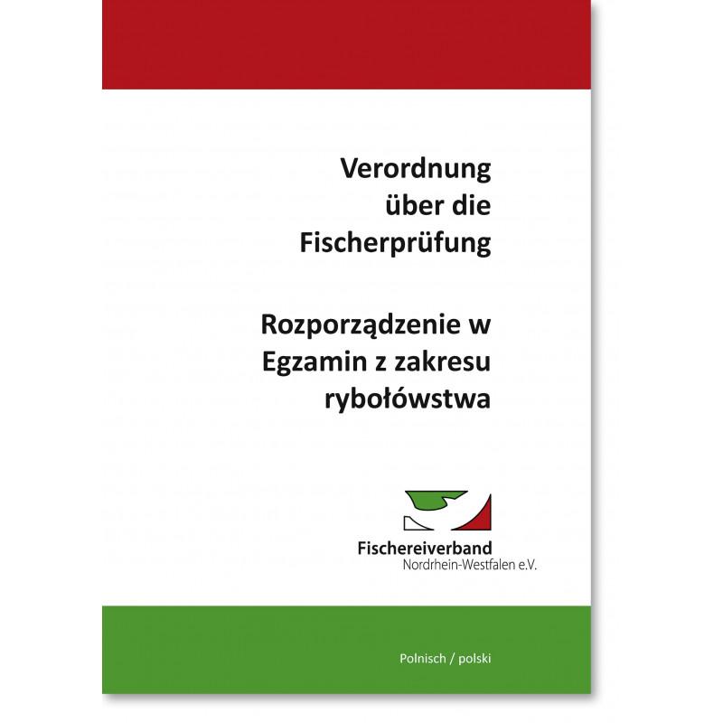 Verordnung  über die  Fischerprüfung, polnisch