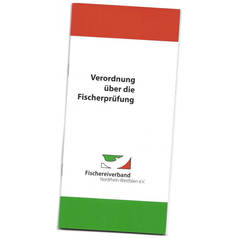 Verordnung über die Fischerprüfung, deutsch für Nichtmitglieder
